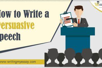 How to Write a Persuasive Speech