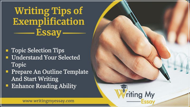 Writing Tips of Exemplification Essay