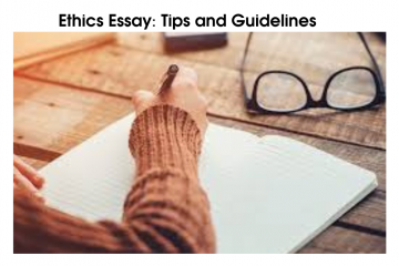 Ethics Essay  Tips and Guidelines