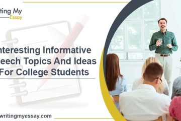 Interesting Informative Speech Topics And Ideas For College Students