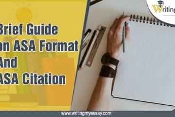 ASA Format and ASA Citation