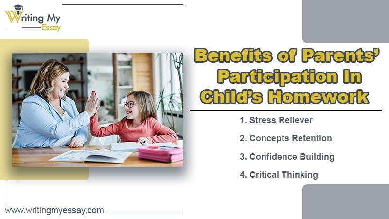 Benefits of Parents' Participation In Child's Homework