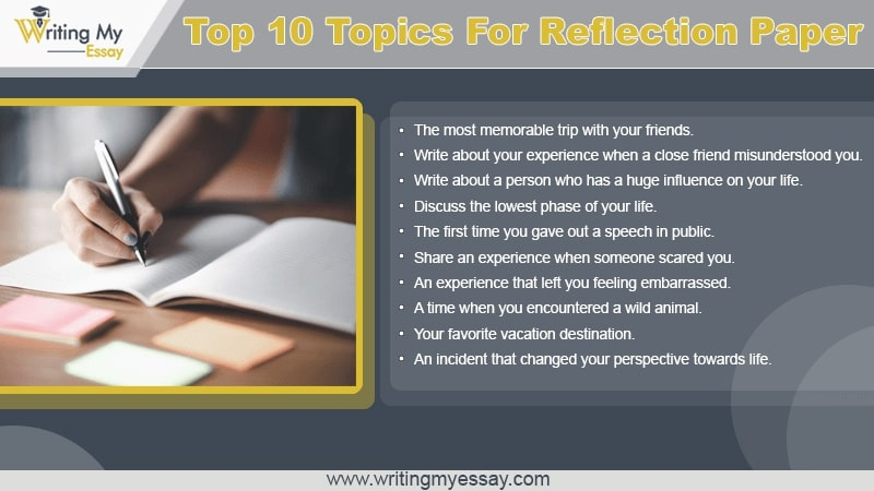 Top 10 Topics For Reflection Paper