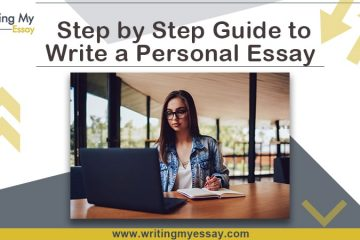 Step by Step Guide to Write a Personal Essay