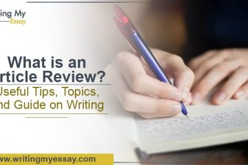 What is Article Review